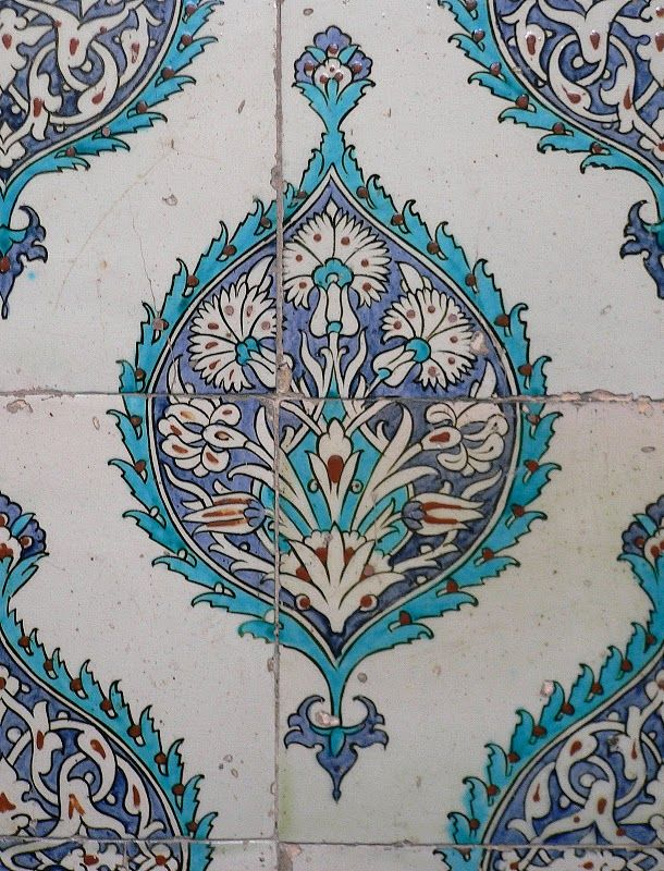 Iznik Tile Topkapi Palace D 地砖 Pinterest Fliesen Mosaik