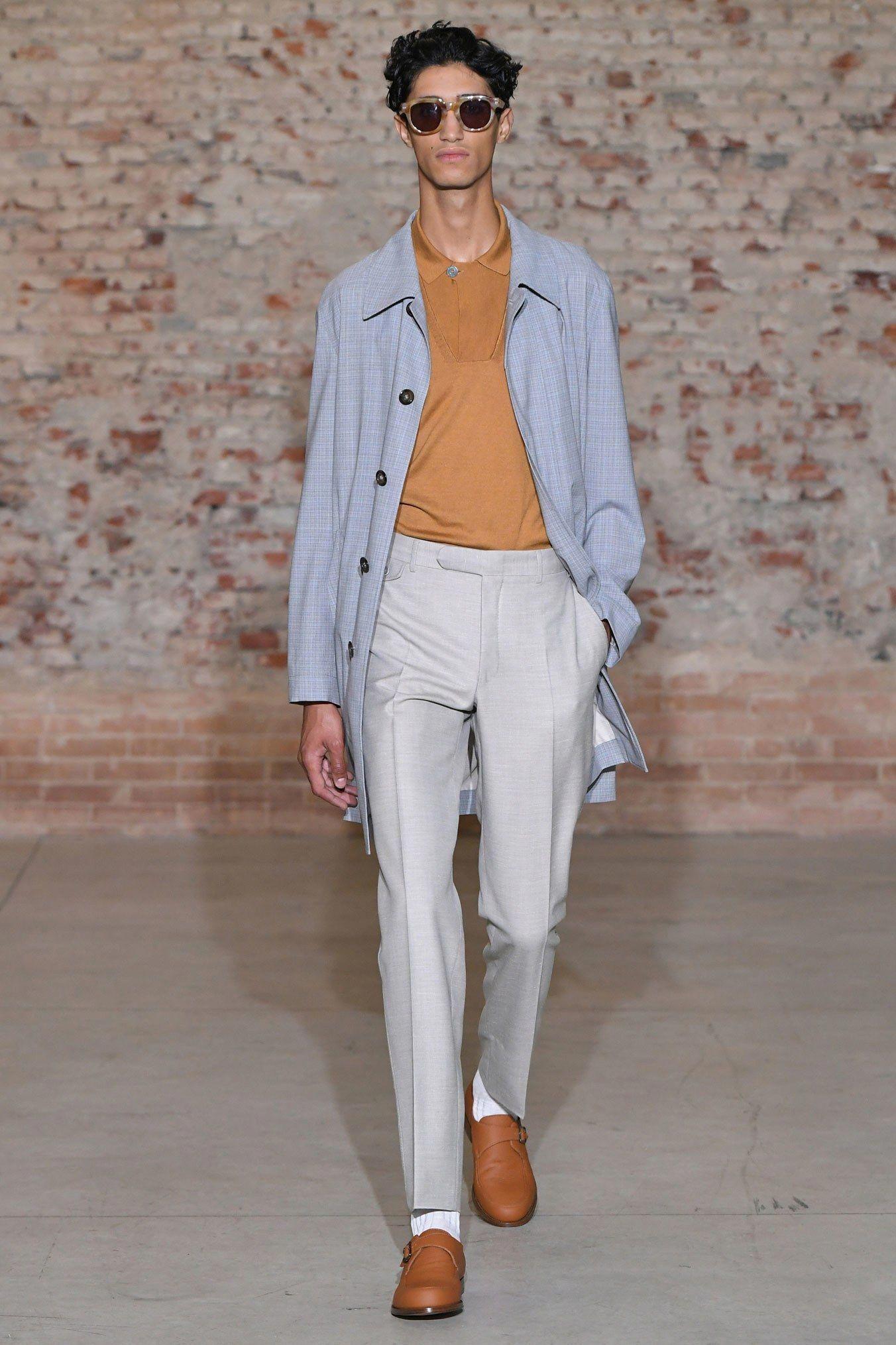 Canali Spring 2019 Menswear Milan Collection Vogue Casualmensfashion