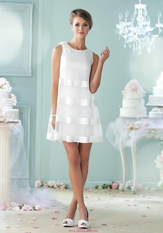 Kısa Gelinlik Modelleri 27 | Kısa Gelinlik | Pinterest | Wedding dress