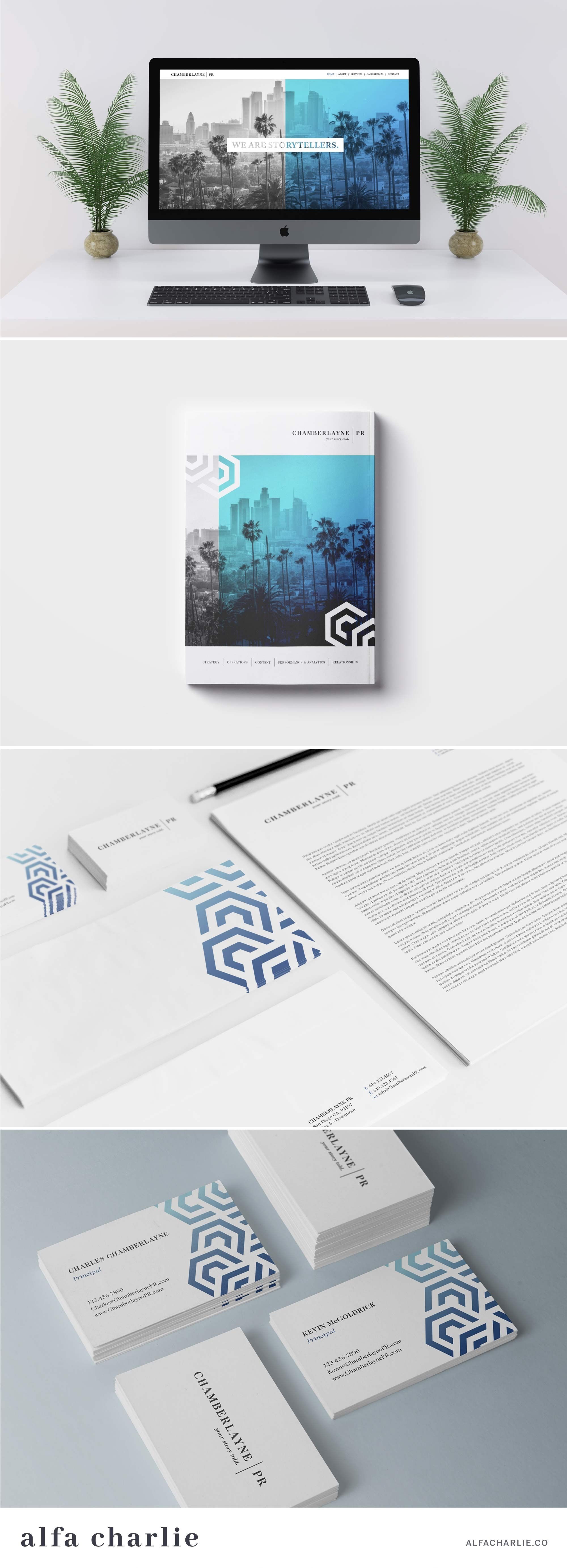 Logo Branding Web Design By Alfa Charlie Branding Design Inspiration Graphic Design Branding Marketing Business Card
