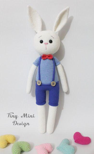 Amigurumi Tavşan Yapımı – Amigurumi Tavşan Modelleri