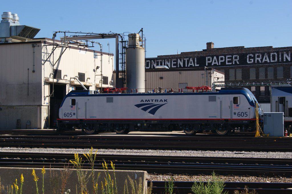 New Amtrak Electric Engine by JamesT4 on DeviantArt