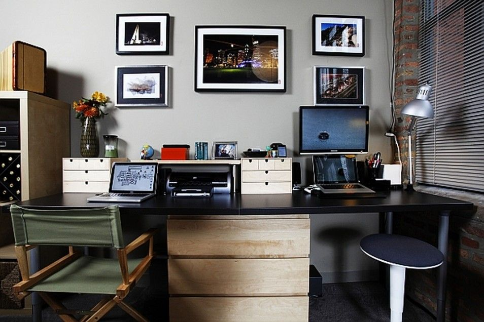 cool gray office furniture creative. Creativity Stuff Personable In Creative Home Office Ideas With Simple Design Decorating And Furniture Modern Space Cool Gray