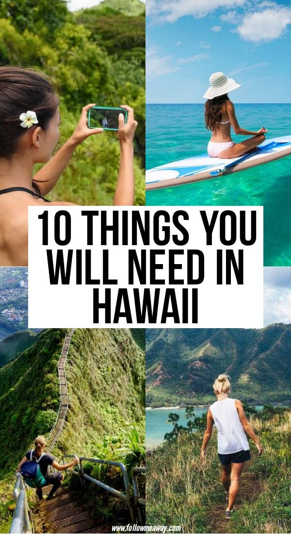 10 Things You Will Need In Hawaii | tips and tricks for traveling to Hawaii | where to stay in Hawaii | where to go in Hawaii | packing list for Hawaii | the ultimate guide to Hawaii travel | bucket list locations for hawaii #hawaii #packinglist #traveltips