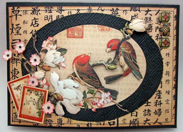 Японская открытка бумага, сделать открытку рубашку