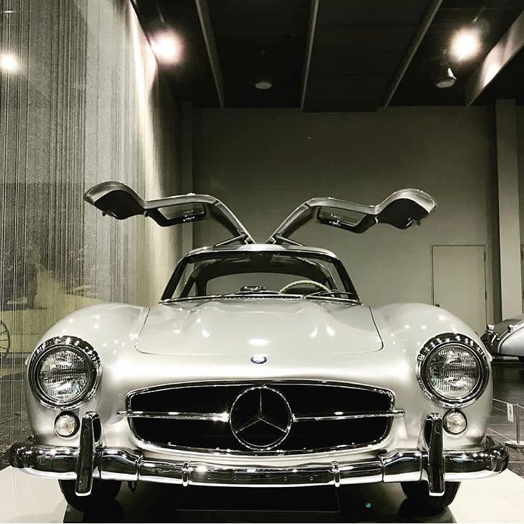 Mercedes Gull-wing Coupe
