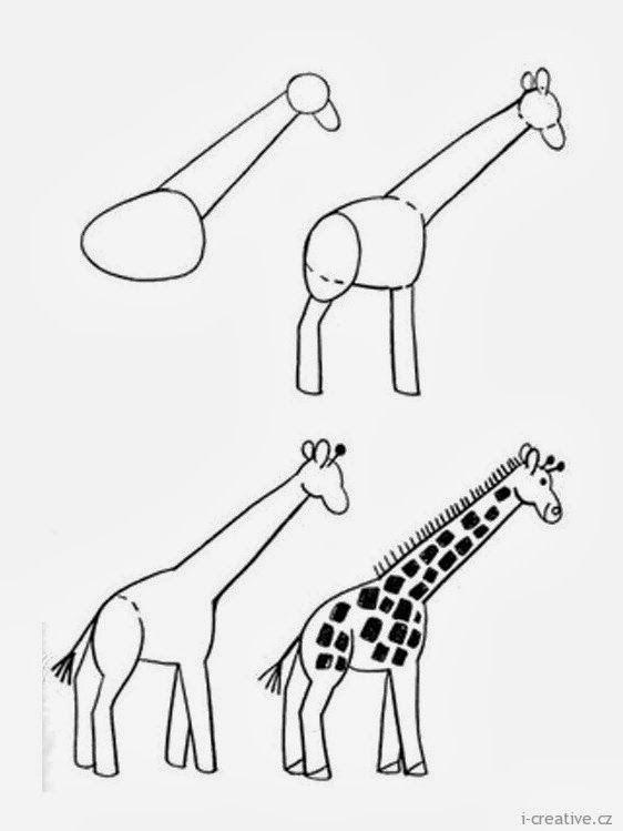 Dibujos Para Ninos En Pocos Pasos Recopilacion Bloc De Notas Con Temas Culturale Como Dibujar Animales Faciles Como Dibujar Animales Como Dibujar Un Caballo