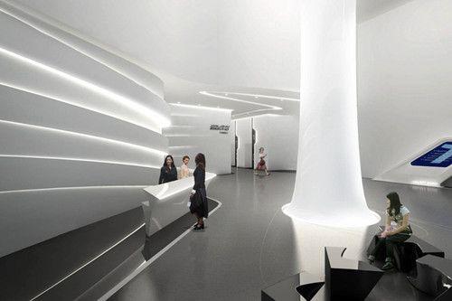 Futuristic Architecture Galaxy Soho Beijing Chinese