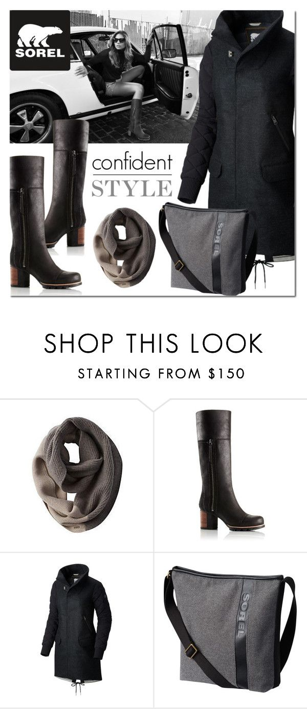 """""""Kick Up the Leaves (Stylishly) With SOREL: CONTEST ENTRY"""" by sjkdesign ❤ liked on Polyvore featuring SOREL and sorelstyle"""
