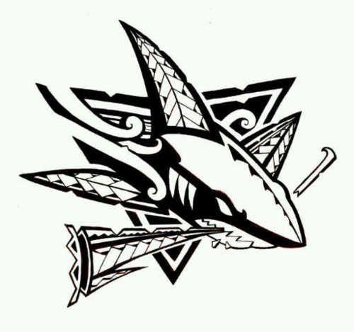SJ Sharks. Cukui design  f8d063d31