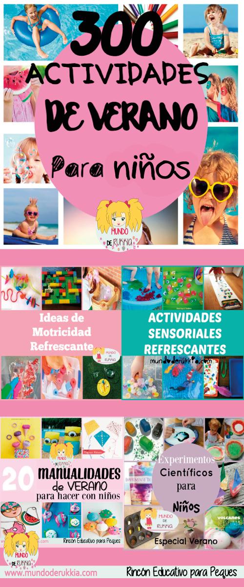 300 Actividades de Verano para Niños