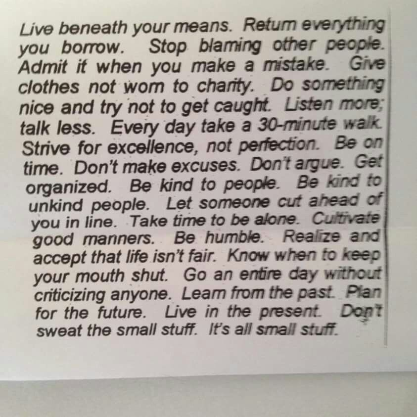 Live Beneath Your Meansits All Small Stuff Funny Wise