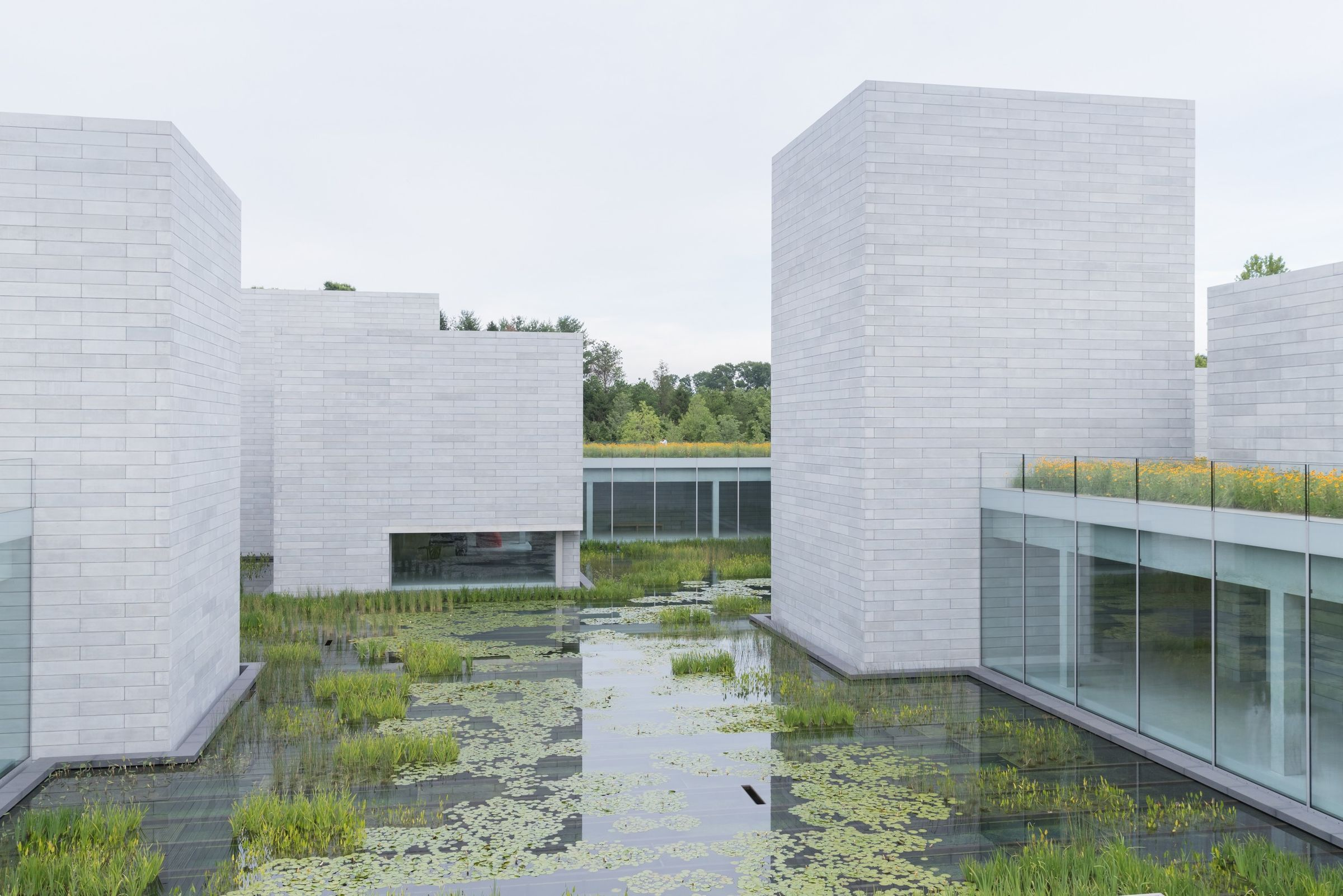 Extensive Garden Roof Assembly By American Hydrotech Archello In 2020 Architecture American Architecture Phifer