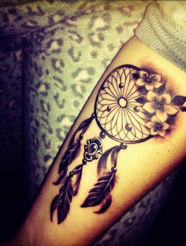 45 Dreamcatcher Tattoo Design Ideas Tatuajes Tatuajes Vintage