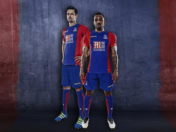 Crystal Palace have unveiled their new home kit which will be worn ...