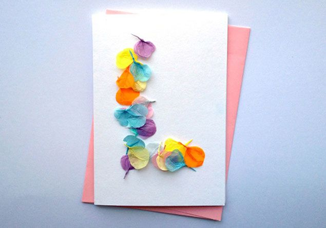 Diy Tissue Paper Cards Photo Source Ideas For Cards With