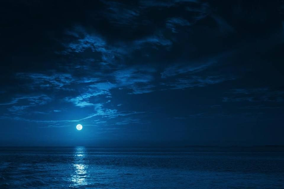 Reflejo de la luna llena