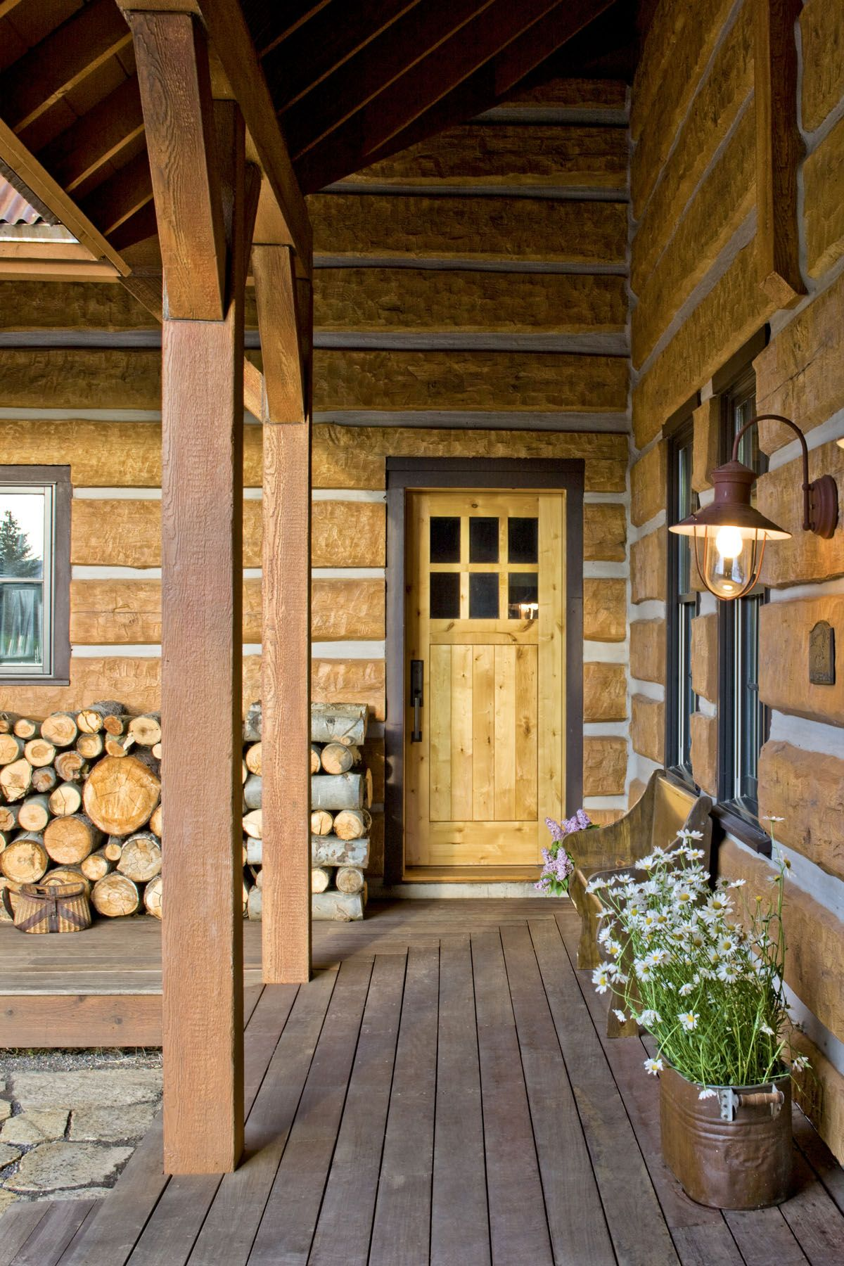 cabins rustic cabin life bc wall interior best magazine
