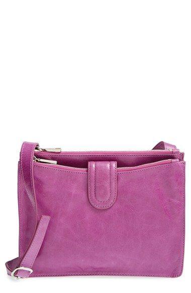 Women's Hobo 'Goldie' Crossbody Bag - Purple