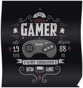 Mega Gamer Poster Videojuegos Retro Imagenes De Videojuegos Fondos De Pantalla De Juegos