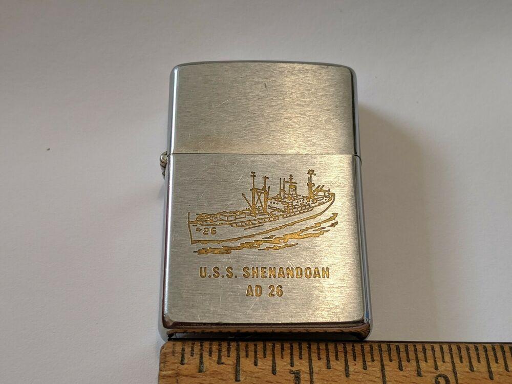 Vintage Zippo Lighter U S S Shenadoah Ad 26 In 2020 Zippo Lighter Zippo Lighter