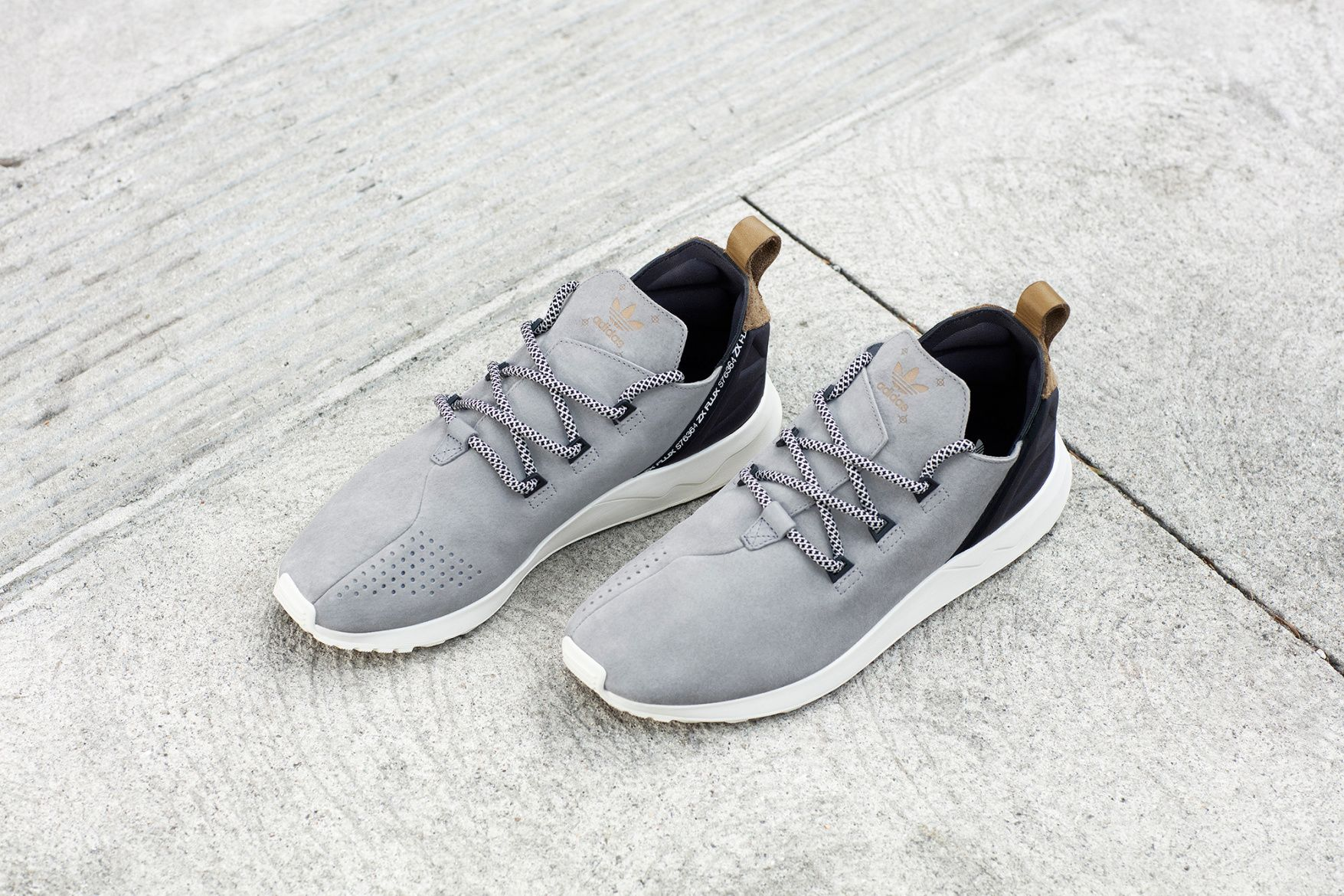 adidas Wraps the ZX FLUX ADV X in Premium Suede