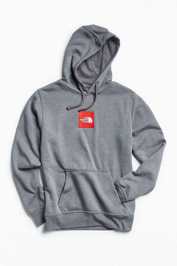 Slide View  2  The North Face Embroidered Box Logo Hoodie Sweatshirt ... 872d51bc4