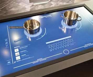 Whirlpool pr sente la cuisine connect e interactive kitchen 2 0 objets connect s pinterest - Domotique cuisine ...