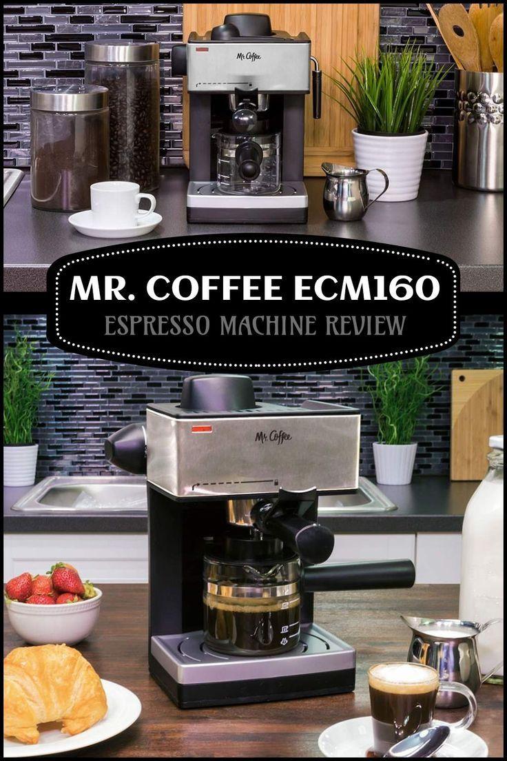 Mr. Coffee ECM160 Espresso Machine Review Coffee