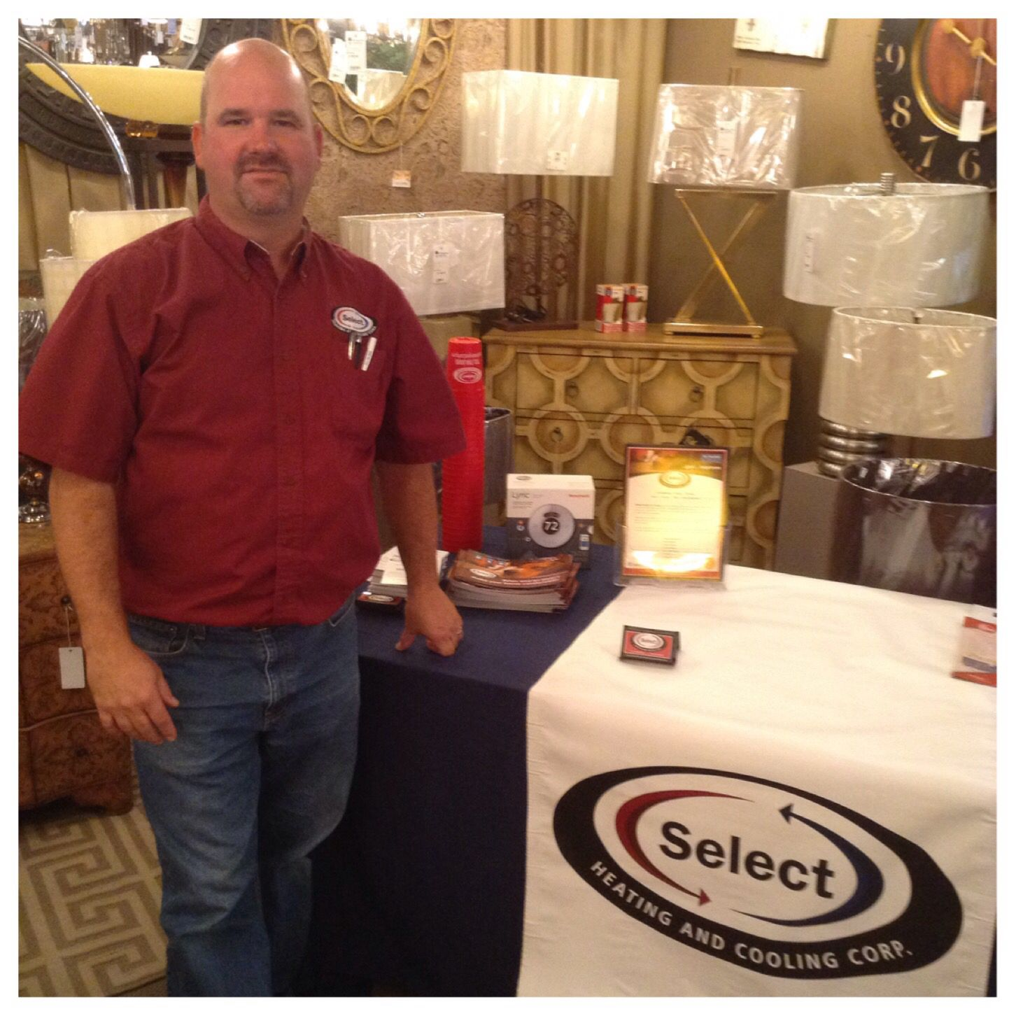 We Had A Great Time With Jim Workman Of Select Heating And Cooling