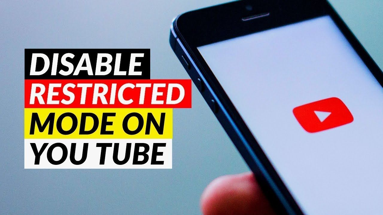 How To Disable Restricted Mode On Youtube App Turn Off Restricted Mode Iphone Life Hacks Android Tutorials Social Media Apps