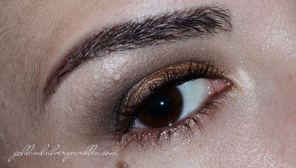Golden Brown. #beautyblog #make-up #blogs