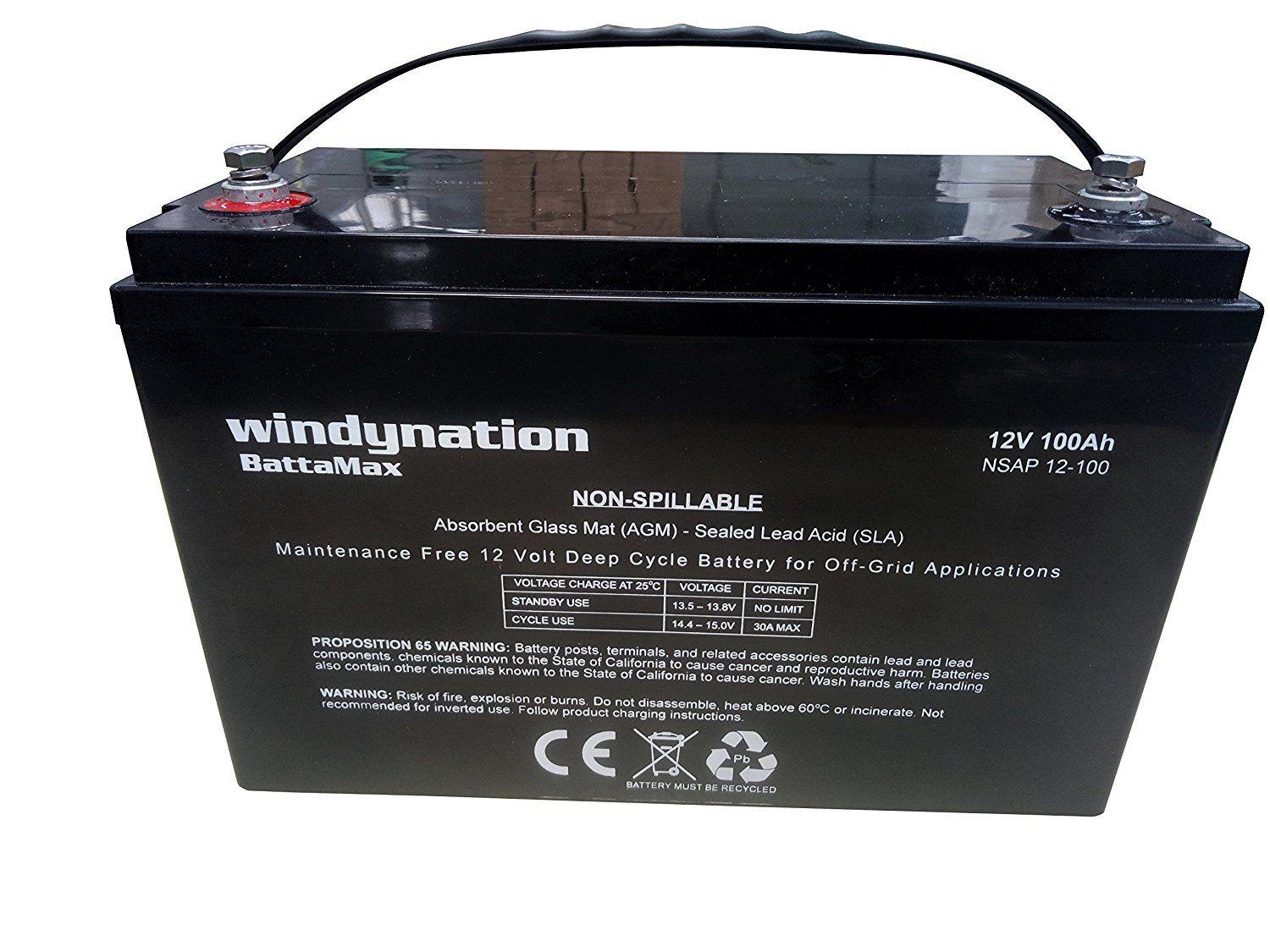 Features Agm Type Battery 12v 100ah Agm Deep Cycle Battery Ideal For Off Grid Power Solar Rv 39 S Ups Off Shor Deep Cycle Battery Off The Grid Cycle