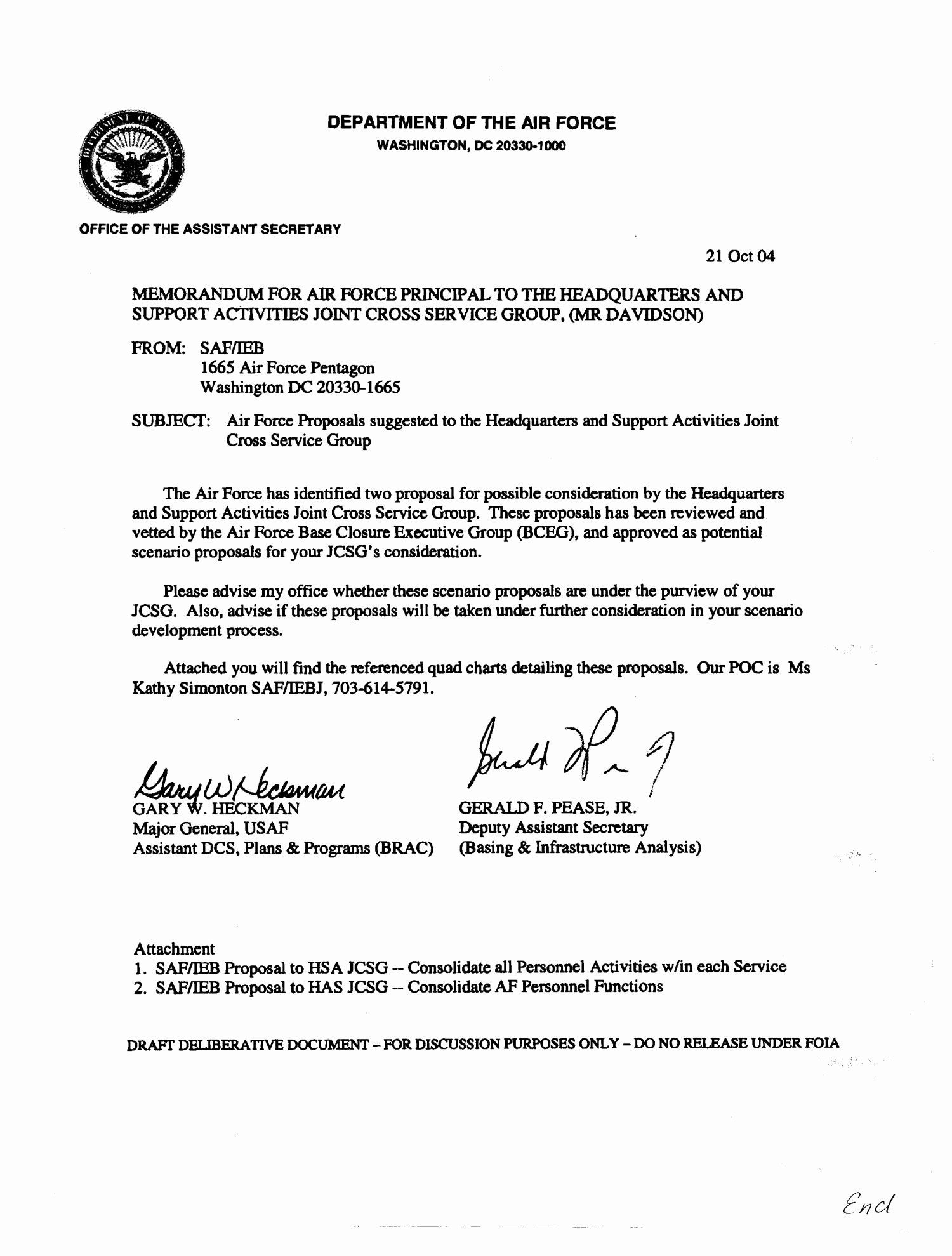 Air Force Memorandum Template New Memo On Air Force Proposals To Realign Military And Memorandum Template Memorandum Word Template