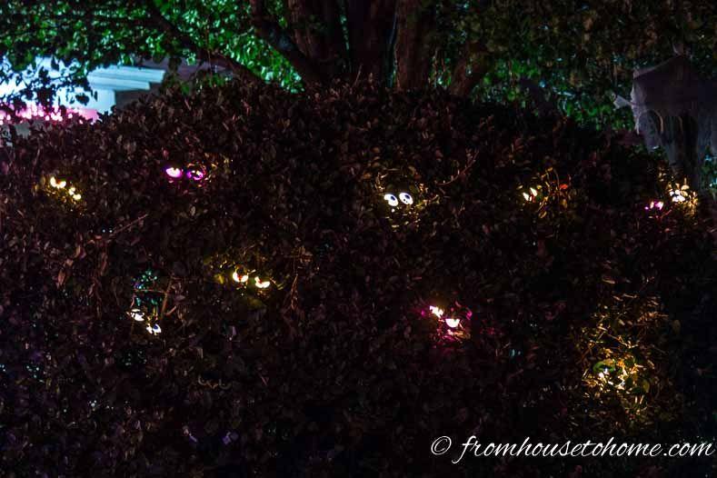 Halloween Outdoor Lighting 7 Spooky Ways To Light Your Yard
