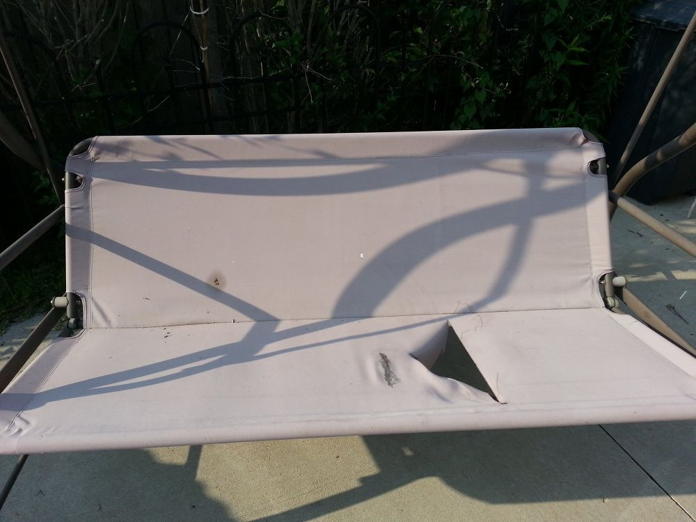 Revamp Patio/garden Swing. | Outdoor swing seat, Outdoor ...