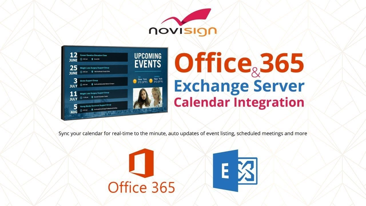 Microsoft Outlook Calendar Office 365 Integration With Digital