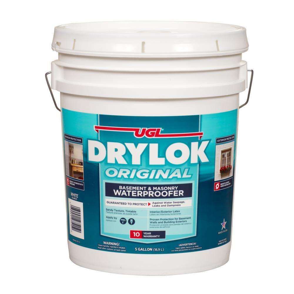 DRYLOK 5 Gal. White Masonry Waterproofer27515 Exterior
