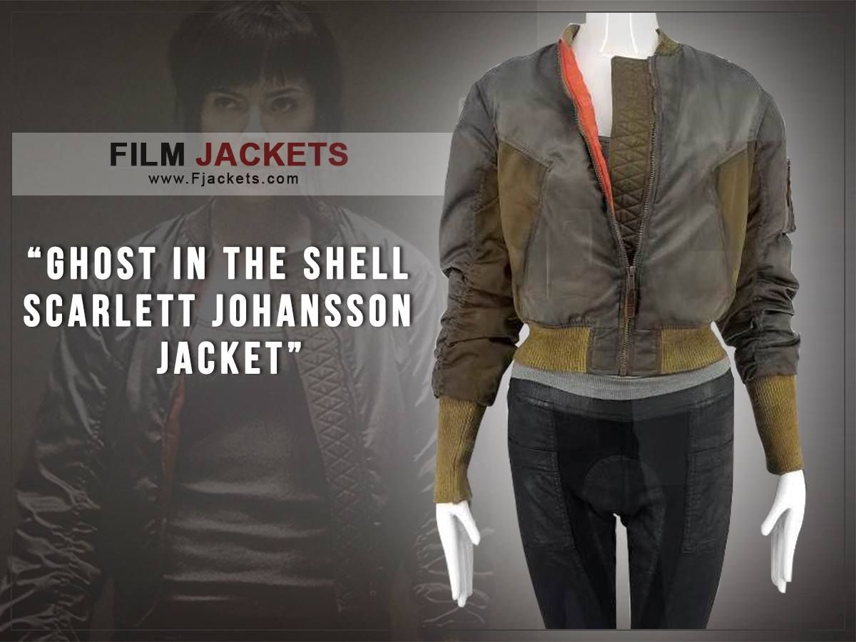 Ghost In The Shell Scarlett Johansson Major Jacket Ghost In The Shell Jackets Scarlett Johansson