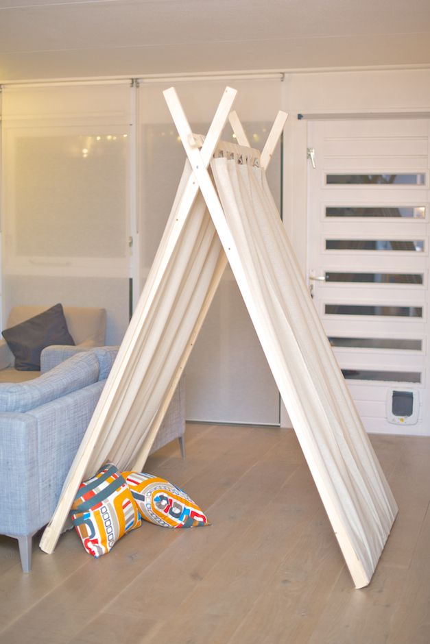 Hedendaags Tent - use shower curtain for sides | Ideeën voor thuisdecoratie YB-21