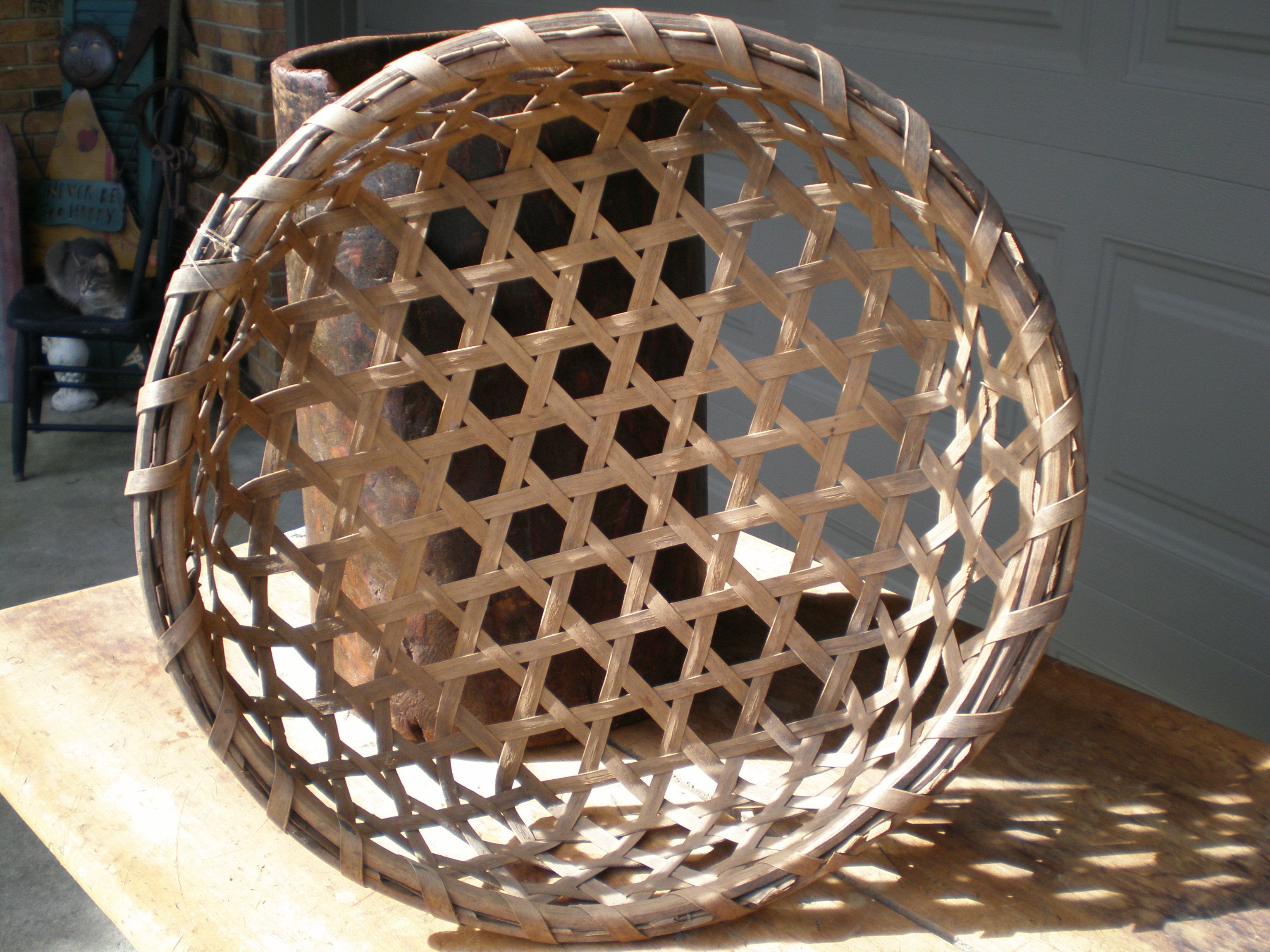 Early Cheese Basket For Sale Sense Of Country Antiques With