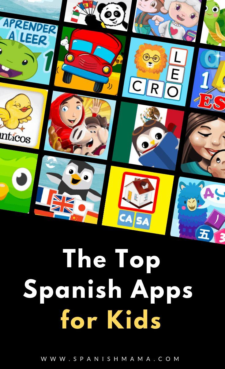 The Top Spanish Apps for Kids in 2020 Learning spanish