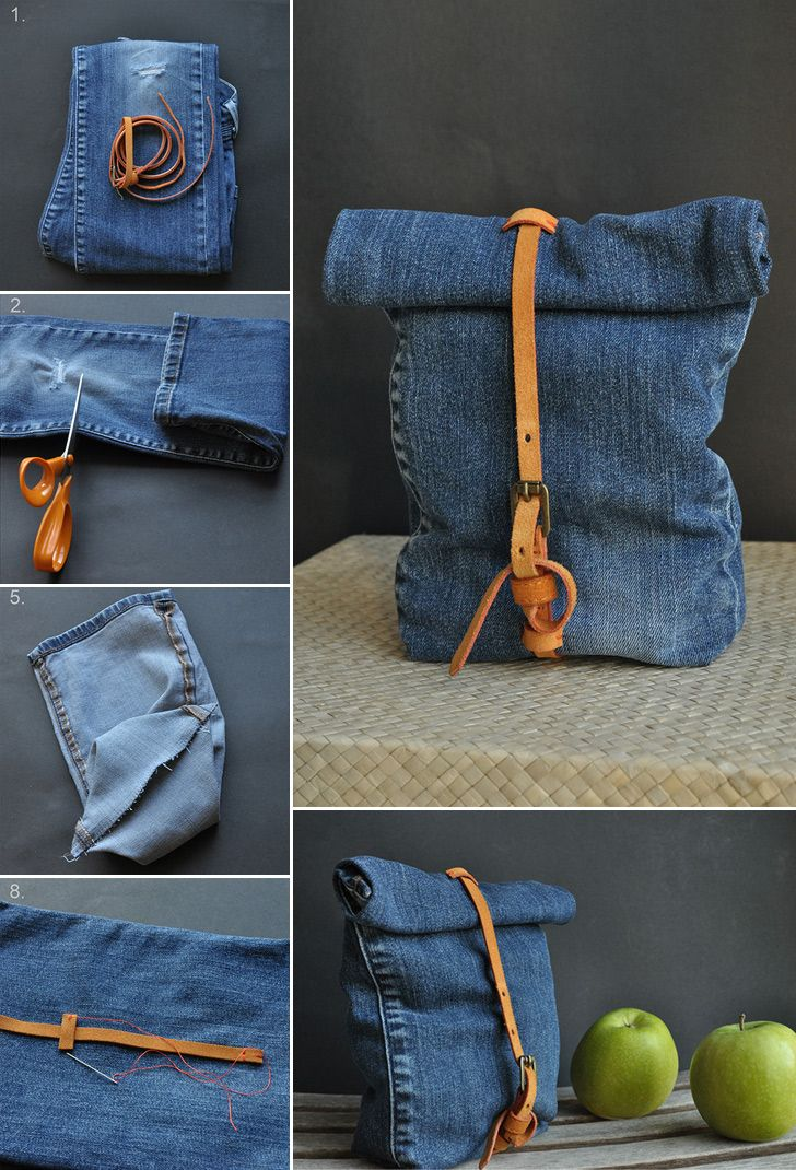 Recycled Jeans Bag Handimania