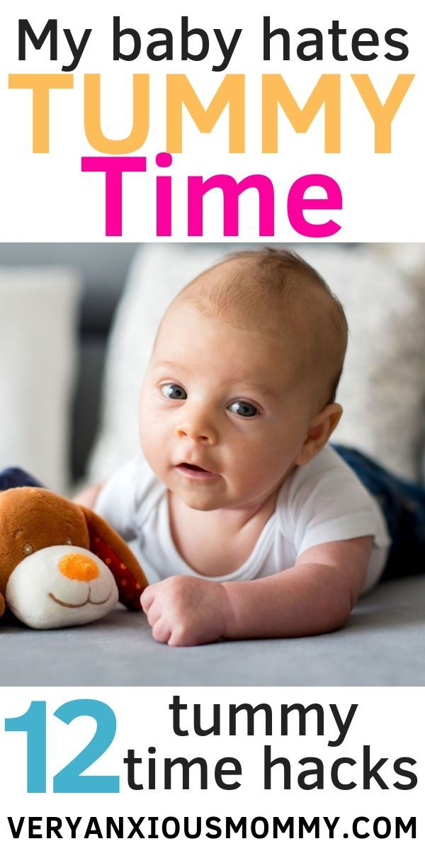 12 Tips for Helping Your Baby Enjoy Tummy Time | Baby ...