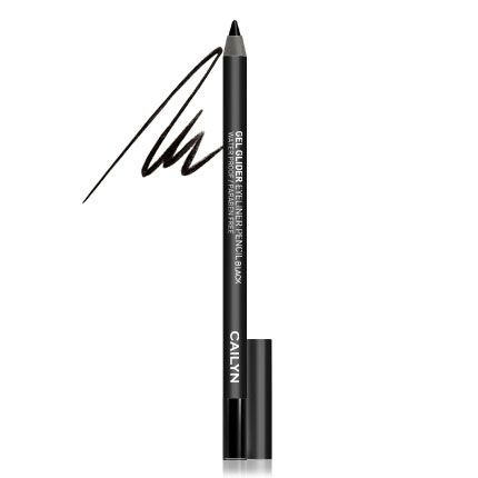 #leapingbunny CAILYN GEL GLIDER EYELINER PENCIL in Black $17.00  Always loving a gel liner! offer the color intensity and the lasting power of gel eyeliners as well as the convenience and easy use of pencils. The richly pigmented eyeliner glide on smoothly, effortlessly providing rich, bold color. Draw a simple line with a pop of color or create a bold, artistic design with multiple vibrant colors! Available in 6 different colors: Black, Chocolate, Blue, Green, Purple, Charcoal