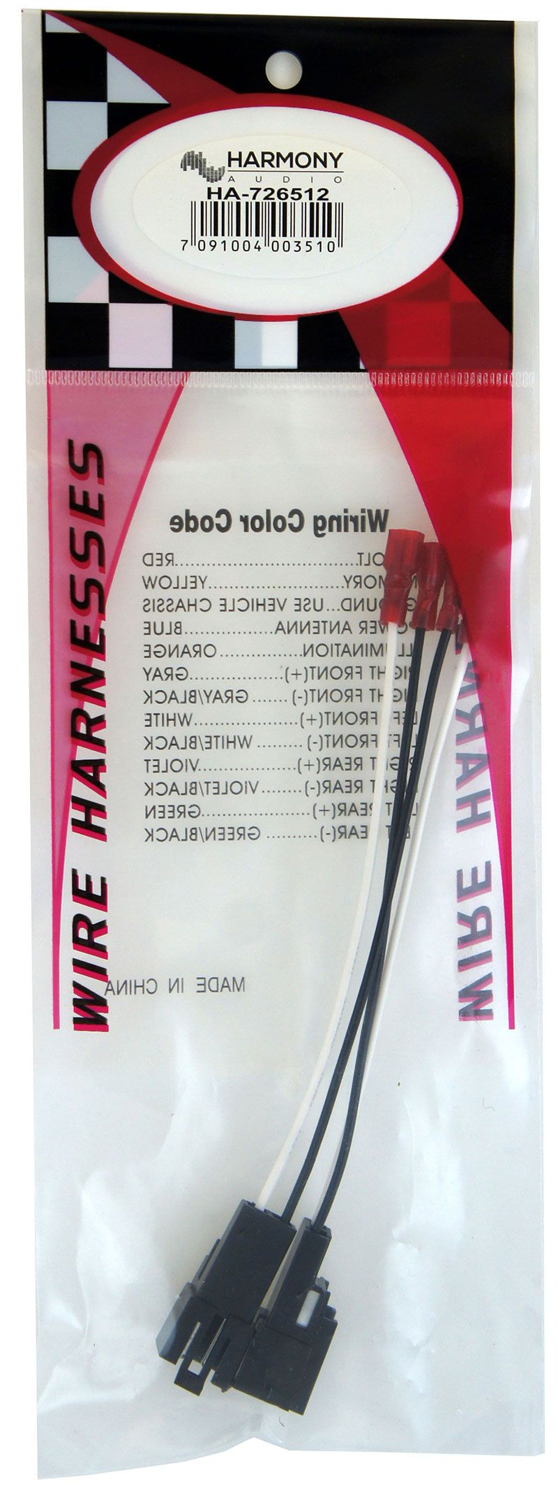 Wire Harnesses - HA 726512