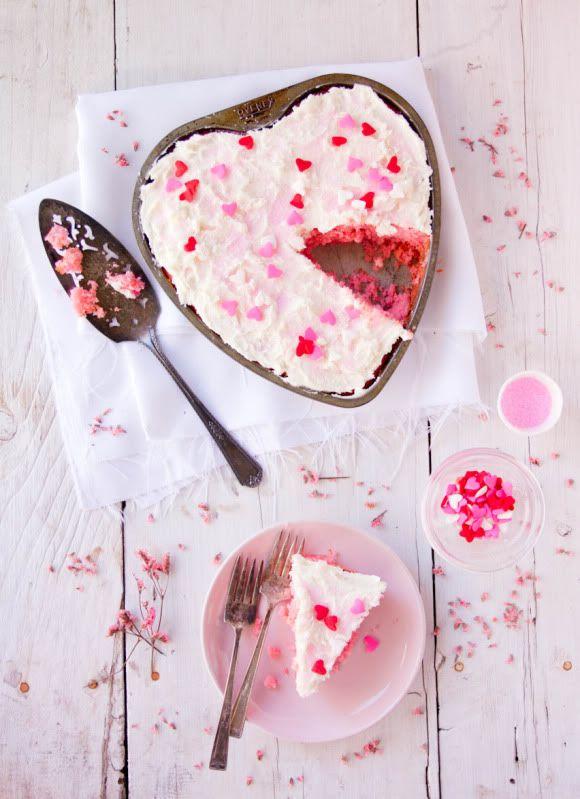 ... pink velvet cake ...