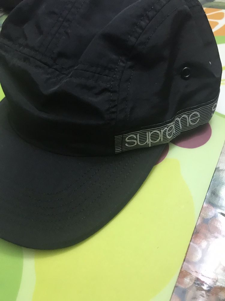SUPREME Tonal Taping Camp Cap Black  fashion  clothing  shoes  accessories   mensaccessories  hats (ebay link) 459f109e0cea