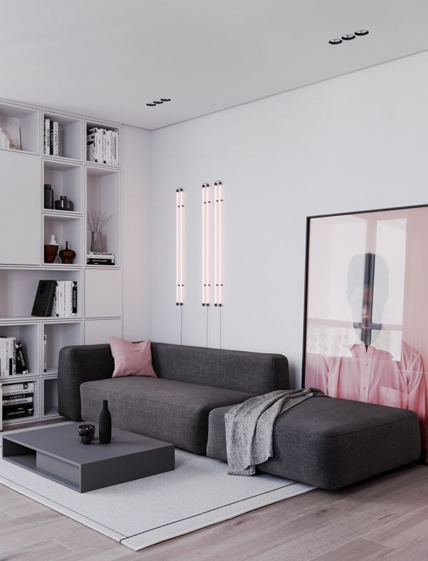 French Quarter On Behance With Images Living Room Interior Modern Houses Interior Apartment Design
