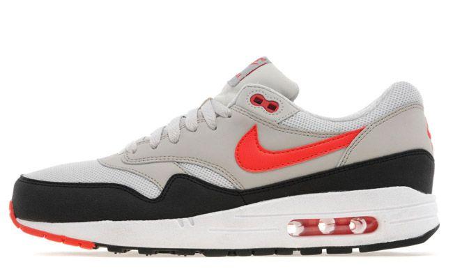 Nike Air Max 1 'BlackGrey Red'   SneakerFiles